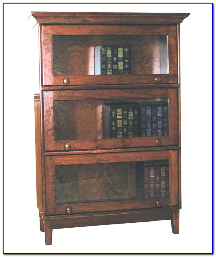 Solid Wood Barrister Bookcase