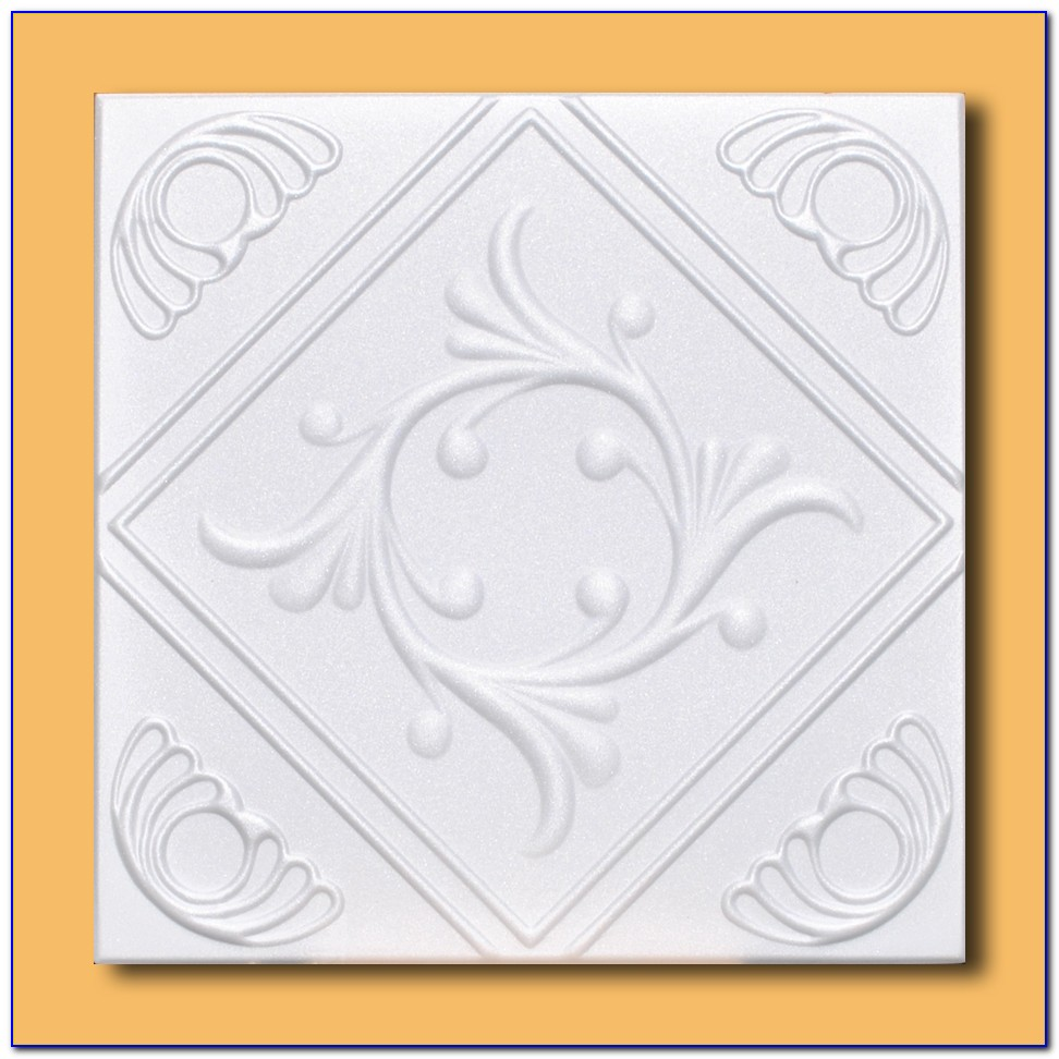 Styrofoam Direct Glue Up Ceiling Tile