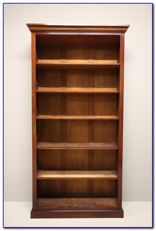 Tall Narrow Mahogany Bookcase