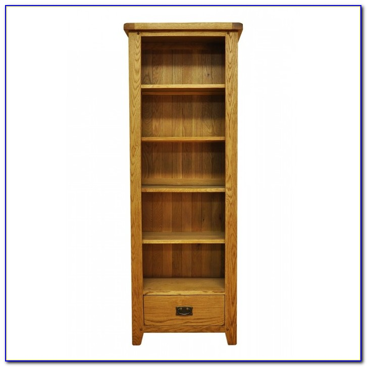 Tall Narrow Oak Bookcase Uk