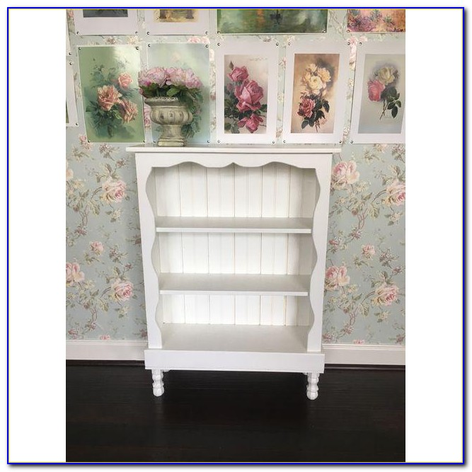 Target Shabby Chic White Bookcase