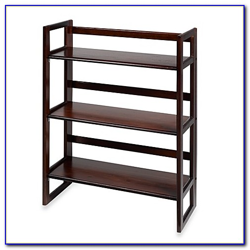 Three Tier Folding Bookcase