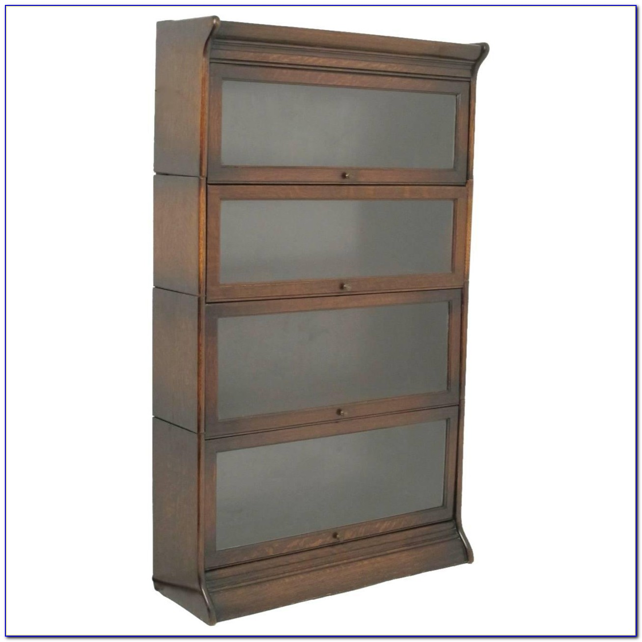 Tiger Oak Lawyer Bookcase