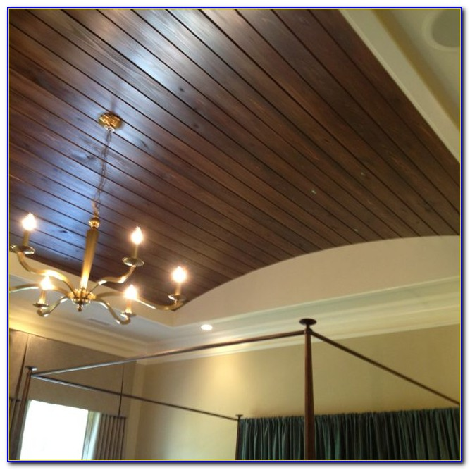 Tongue And Groove Wood Ceiling Planks