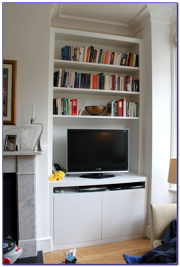 Tv Cabinet With Bookshelf
