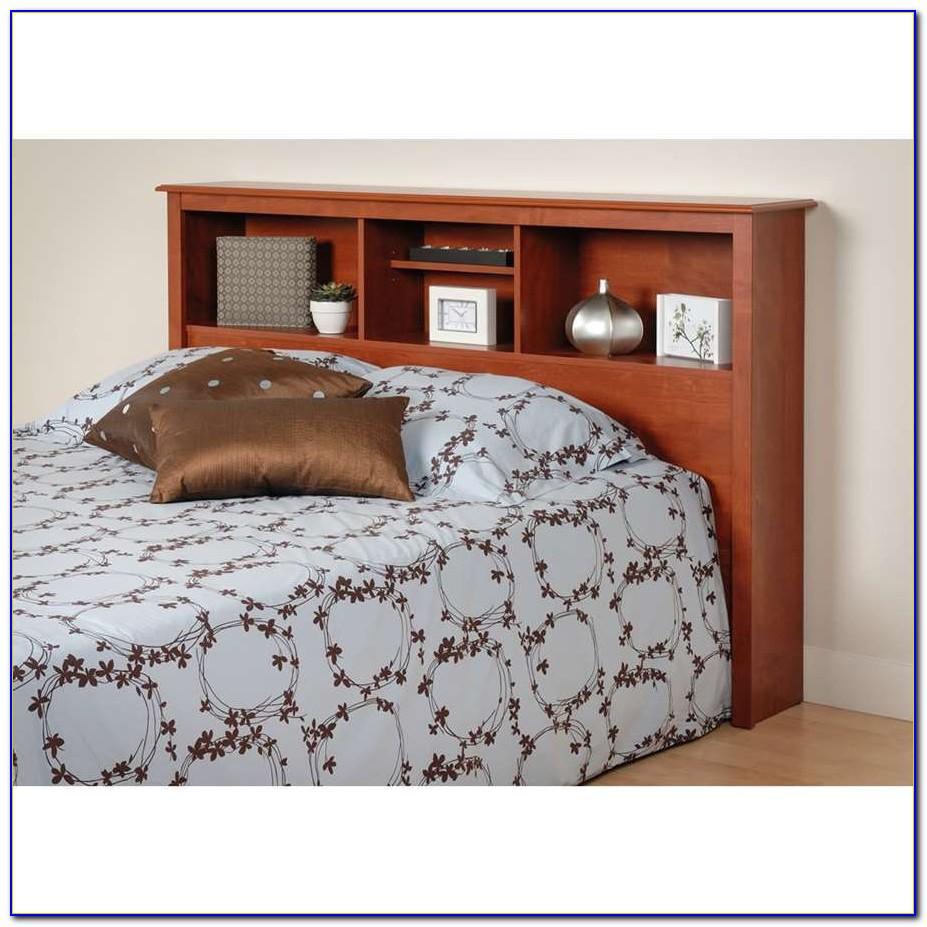 Twin Bed Bookcase Headboard