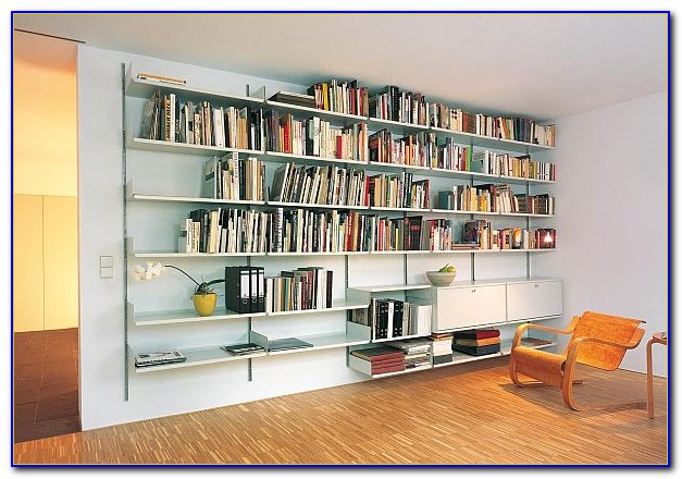 Wall Bookcase Systems