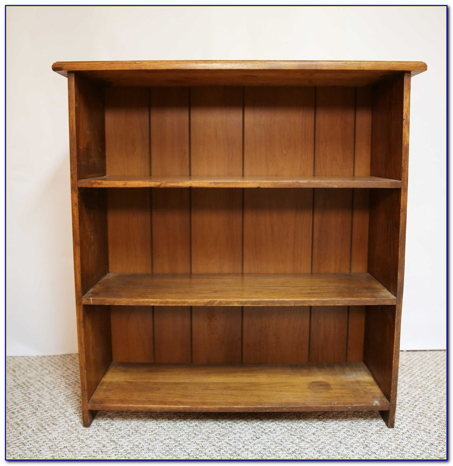 Walnut Veneer Bookshelf