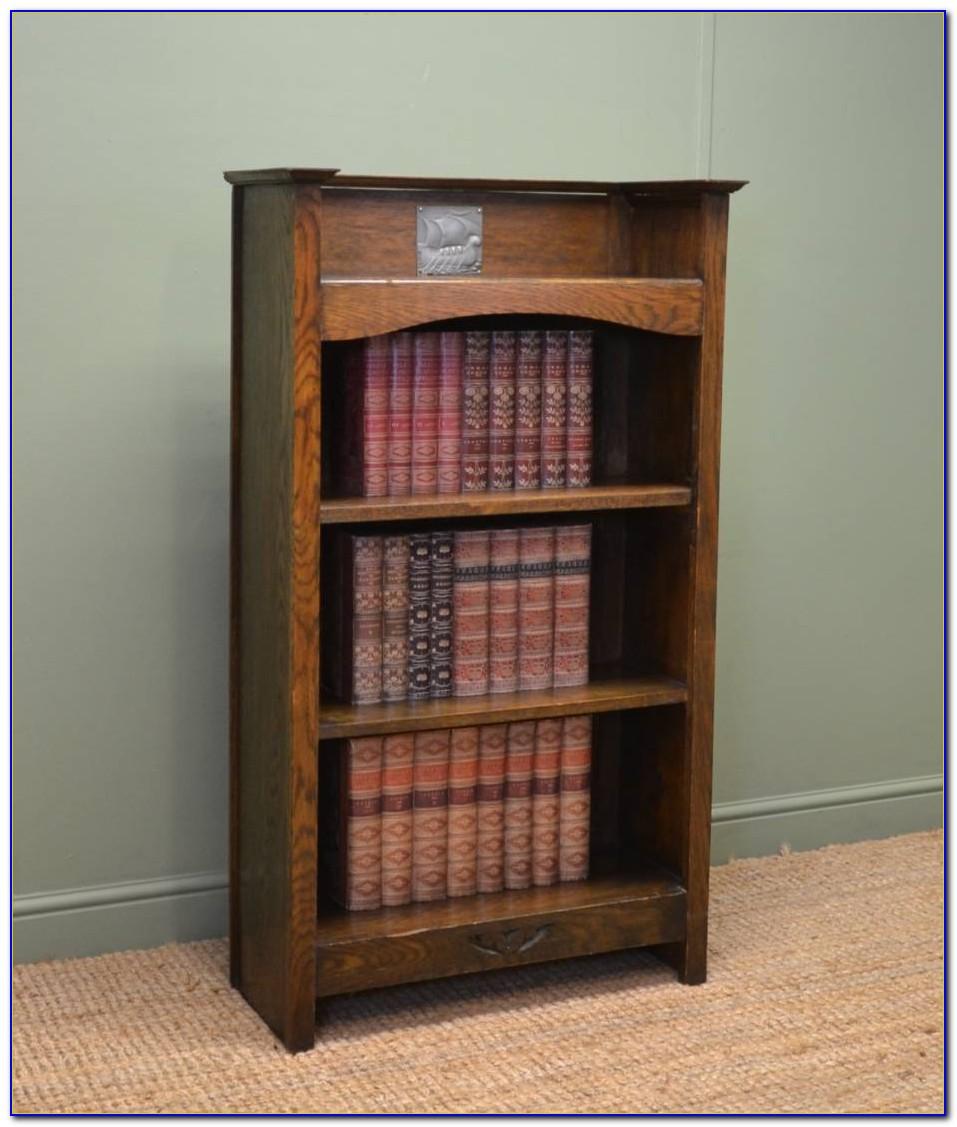 Westbury Reclaimed Oak Low Bookcase