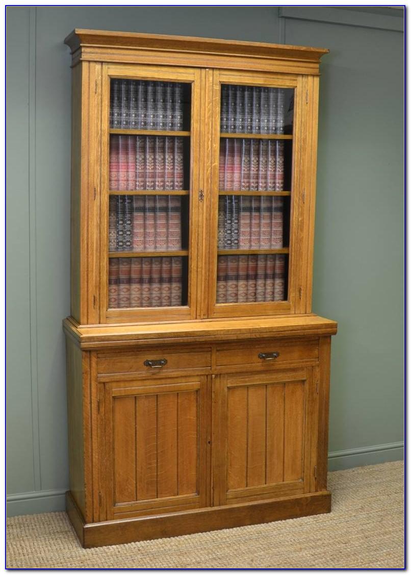 Whalen Golden Oak Bookcase