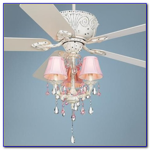White Ceiling Fans With Chandelier