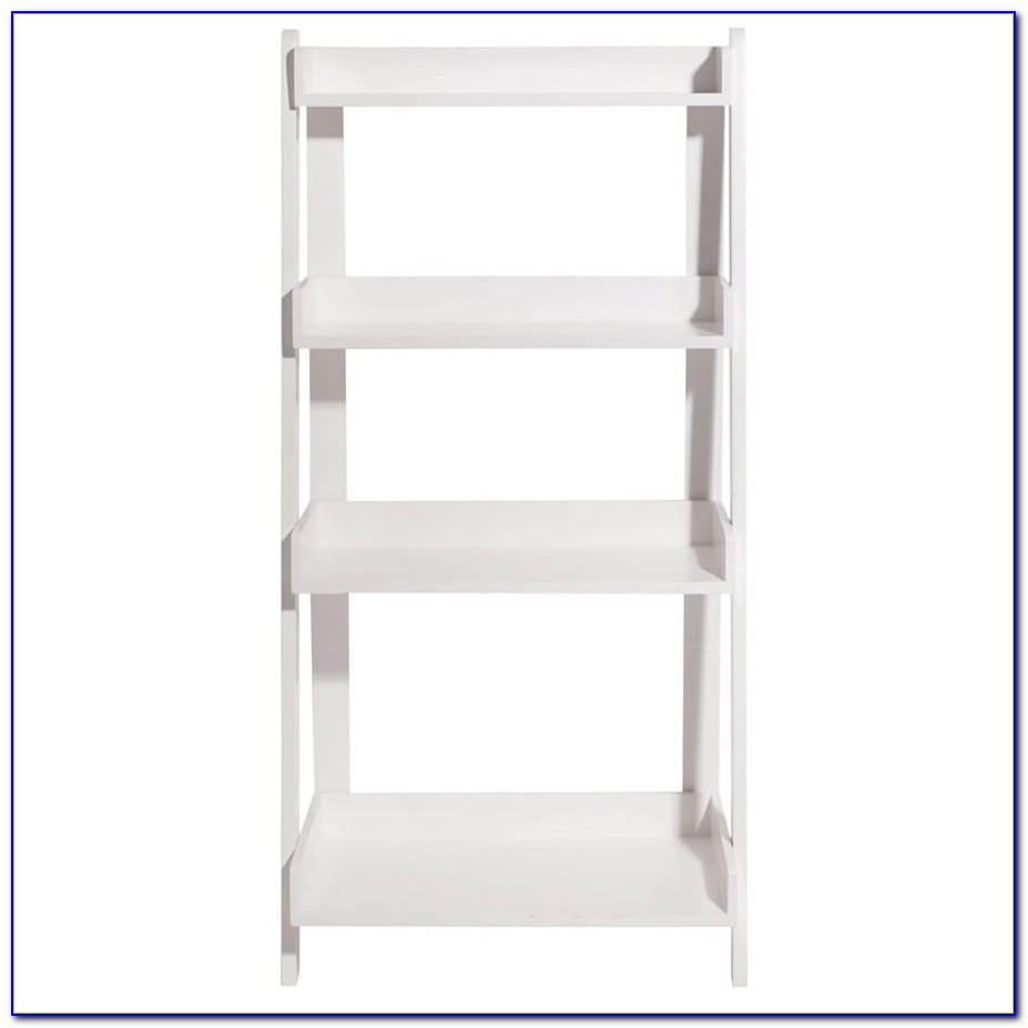 White Ladder Shelf Bookcase Uk