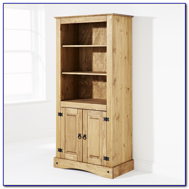 Wisteria Recycled Pine Wood Bookcase