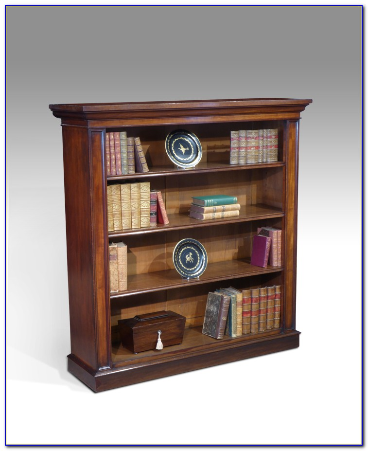 Wooden Bookcase Display Cabinet