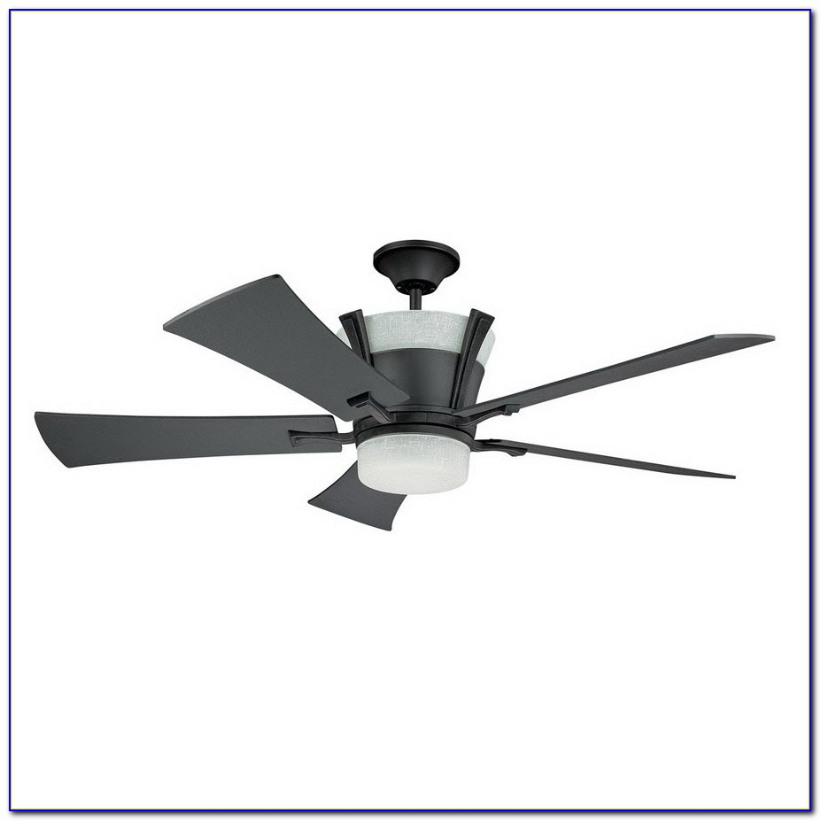 Wrought Iron Ceiling Fan With Light