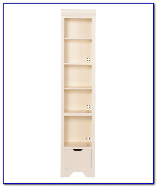 Young America White Bookcase