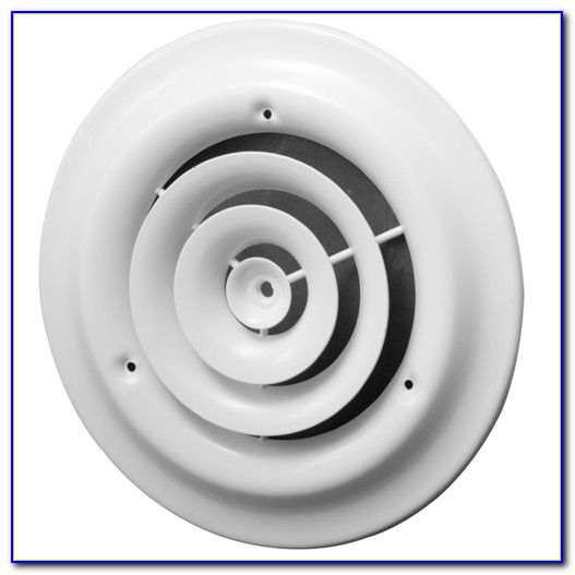 12 Inch Round Ceiling Diffuser With Damper