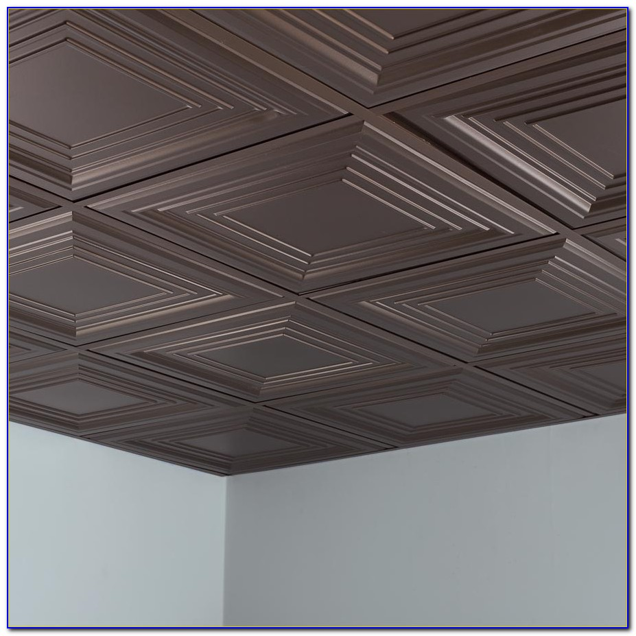 2x2 Black Acoustic Ceiling Tiles