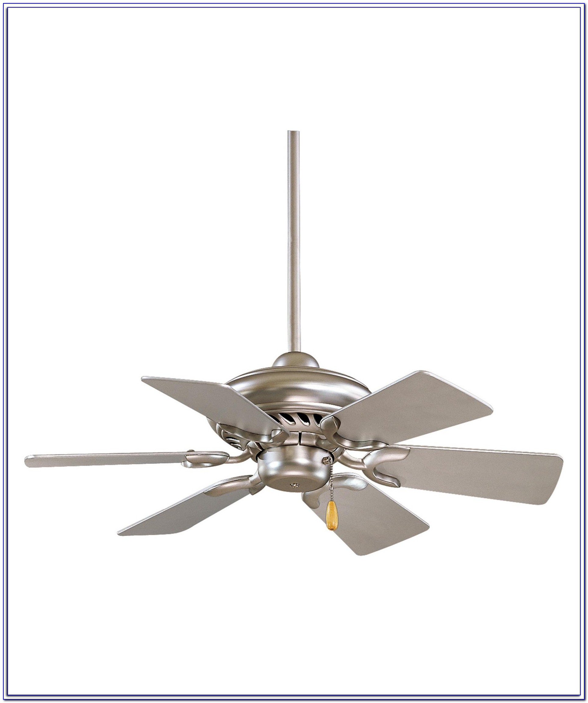 32 Inch White Ceiling Fan With Light