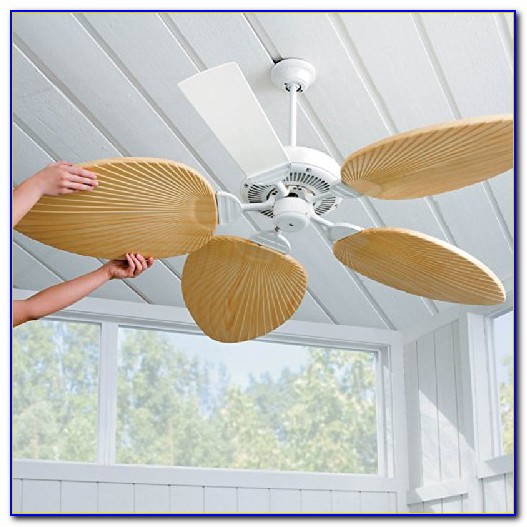 5 Palm Leaf Ceiling Fan Blades