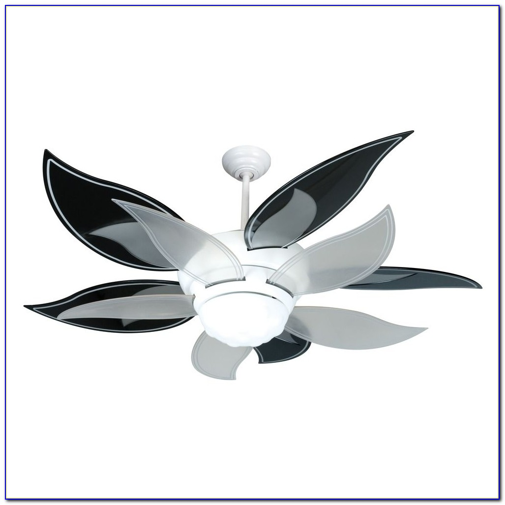 52 Craftmade Bloom Pink And White Ceiling Fan With Light