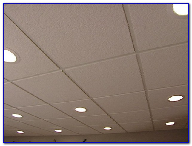 Acoustic Drop Ceiling Tiles
