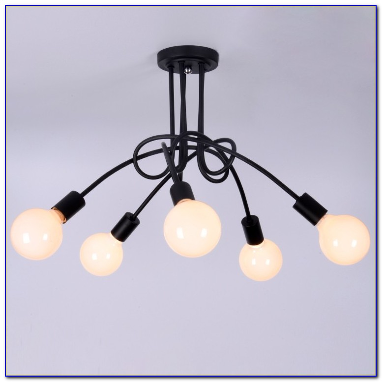 Antique Wrought Iron Ceiling Lights