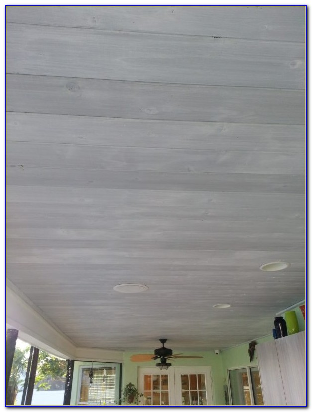 Armstrong Woodhaven White Wash Ceiling Planks