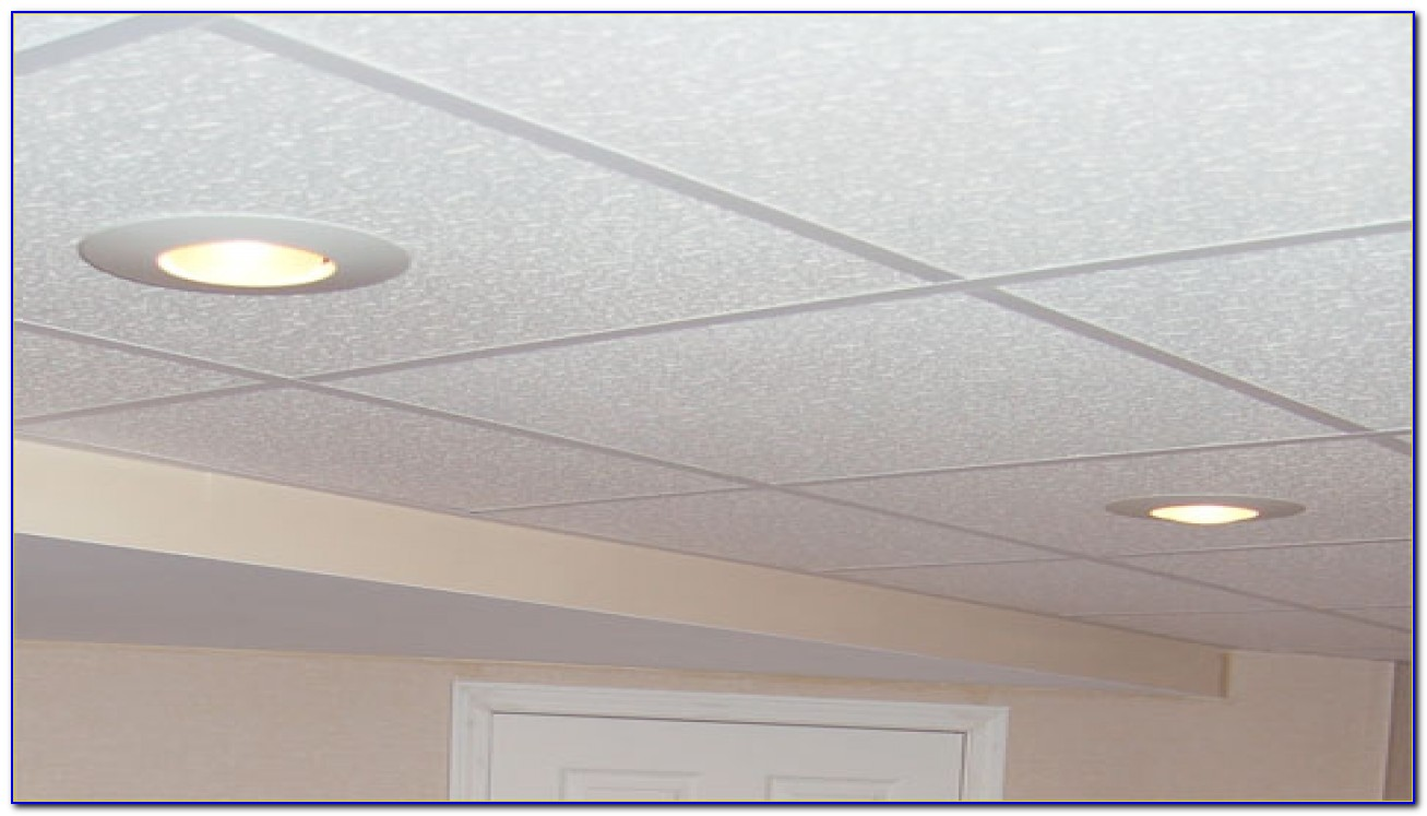 Basement Drop Ceiling Lighting Options