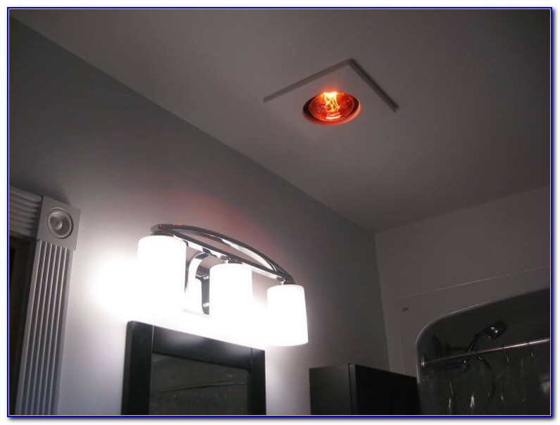 Bathroom Ceiling Heat Lamps