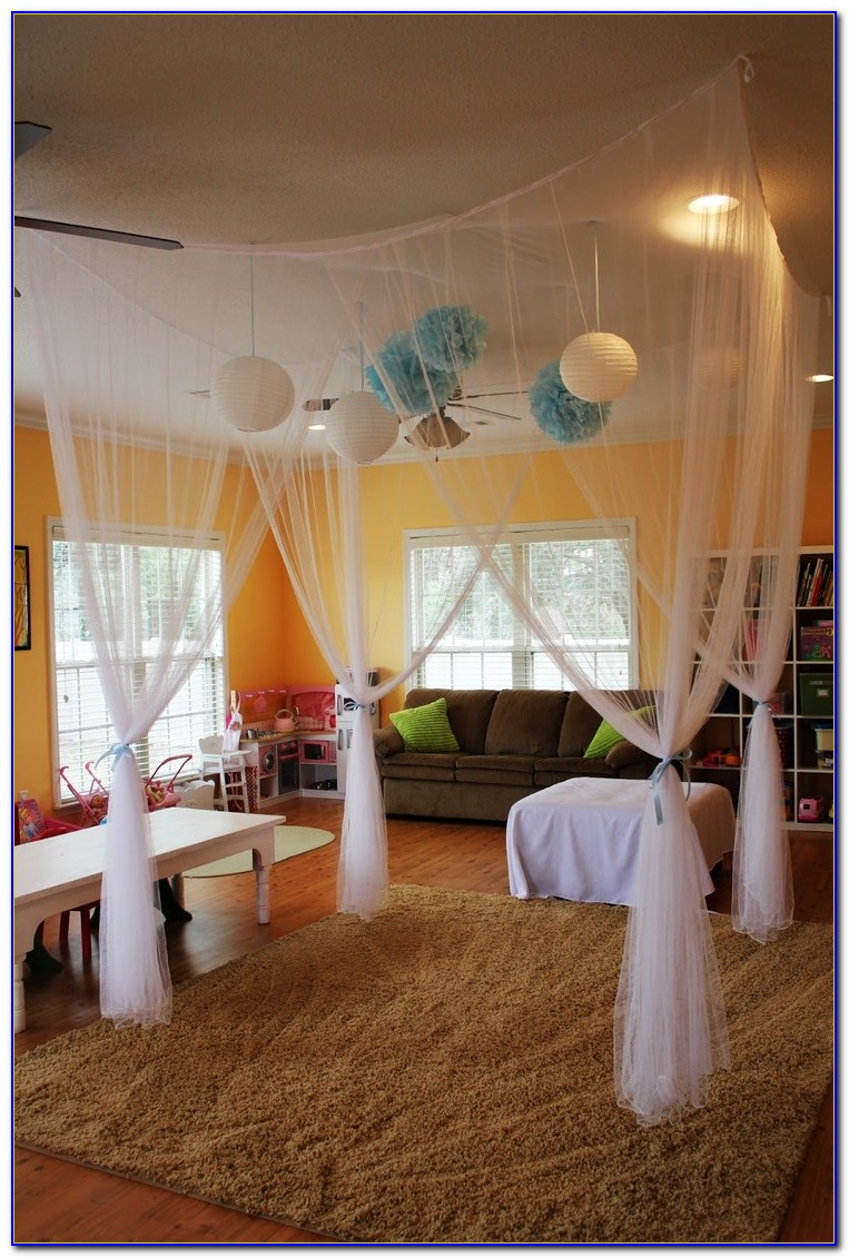 Bed Canopy Hanging From Ceiling