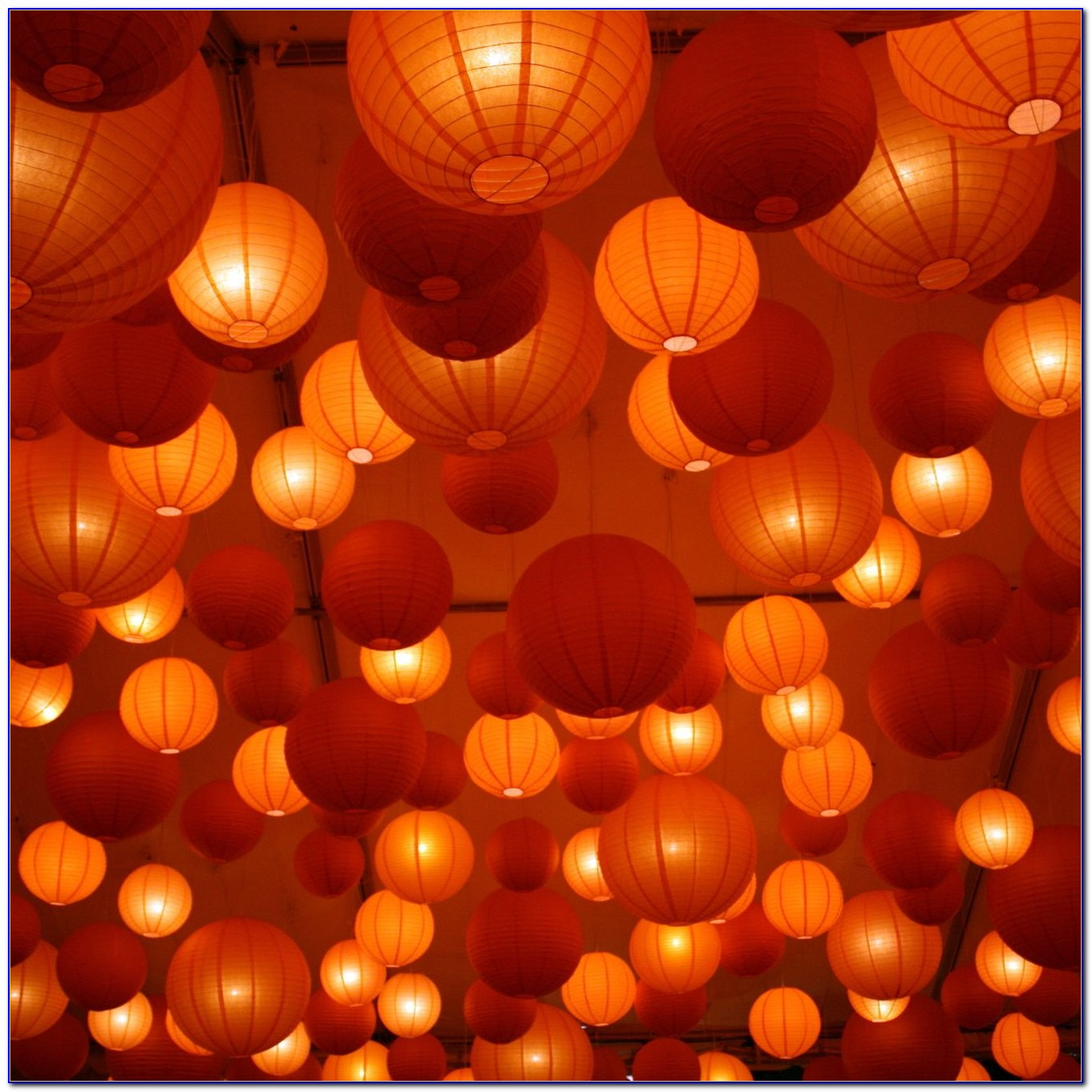 Best Way To Hang Paper Lanterns From Ceiling