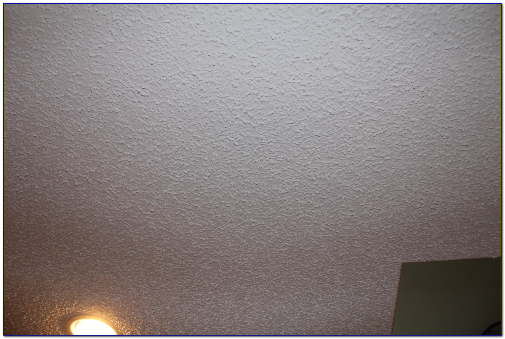 Best Way To Knock Down Popcorn Ceiling