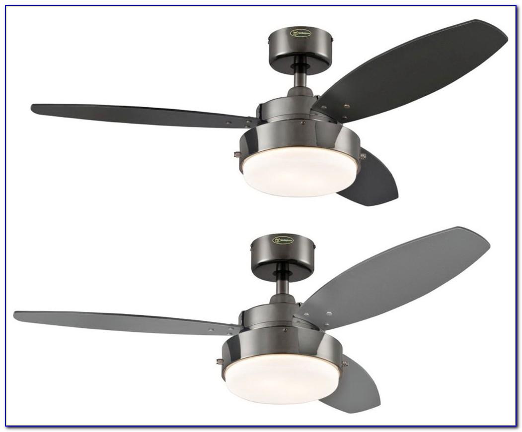 Black Ceiling Fan With Spotlights