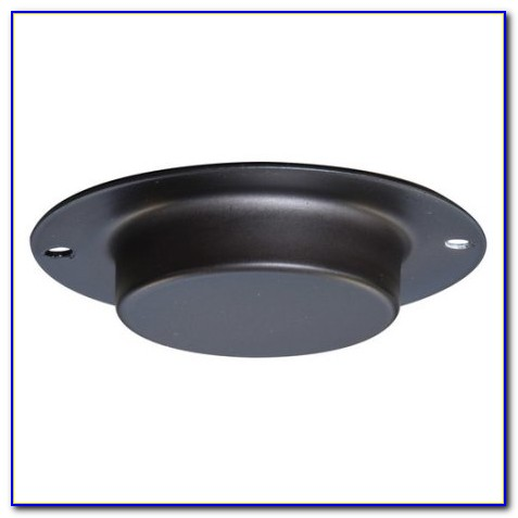 Black Ceiling Plate For Light Fixture