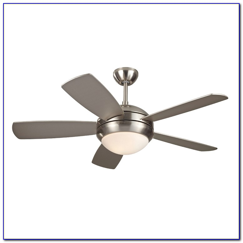 Brushed Stainless Steel Ceiling Fans