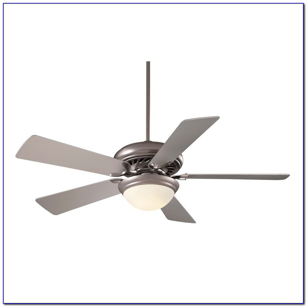 Brushed Steel Ceiling Fan Light Kit