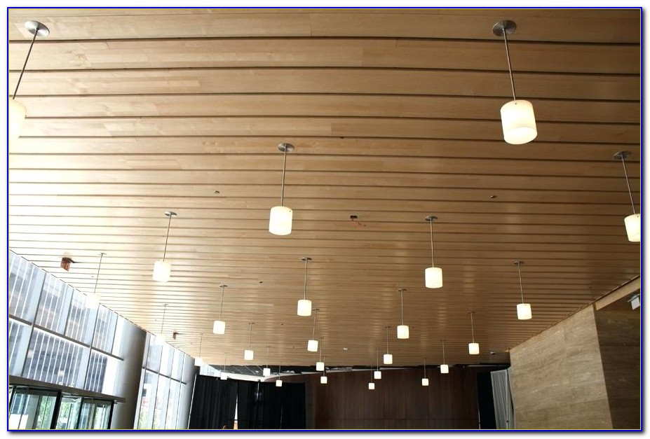 Cedar Tongue And Groove Ceiling Boards