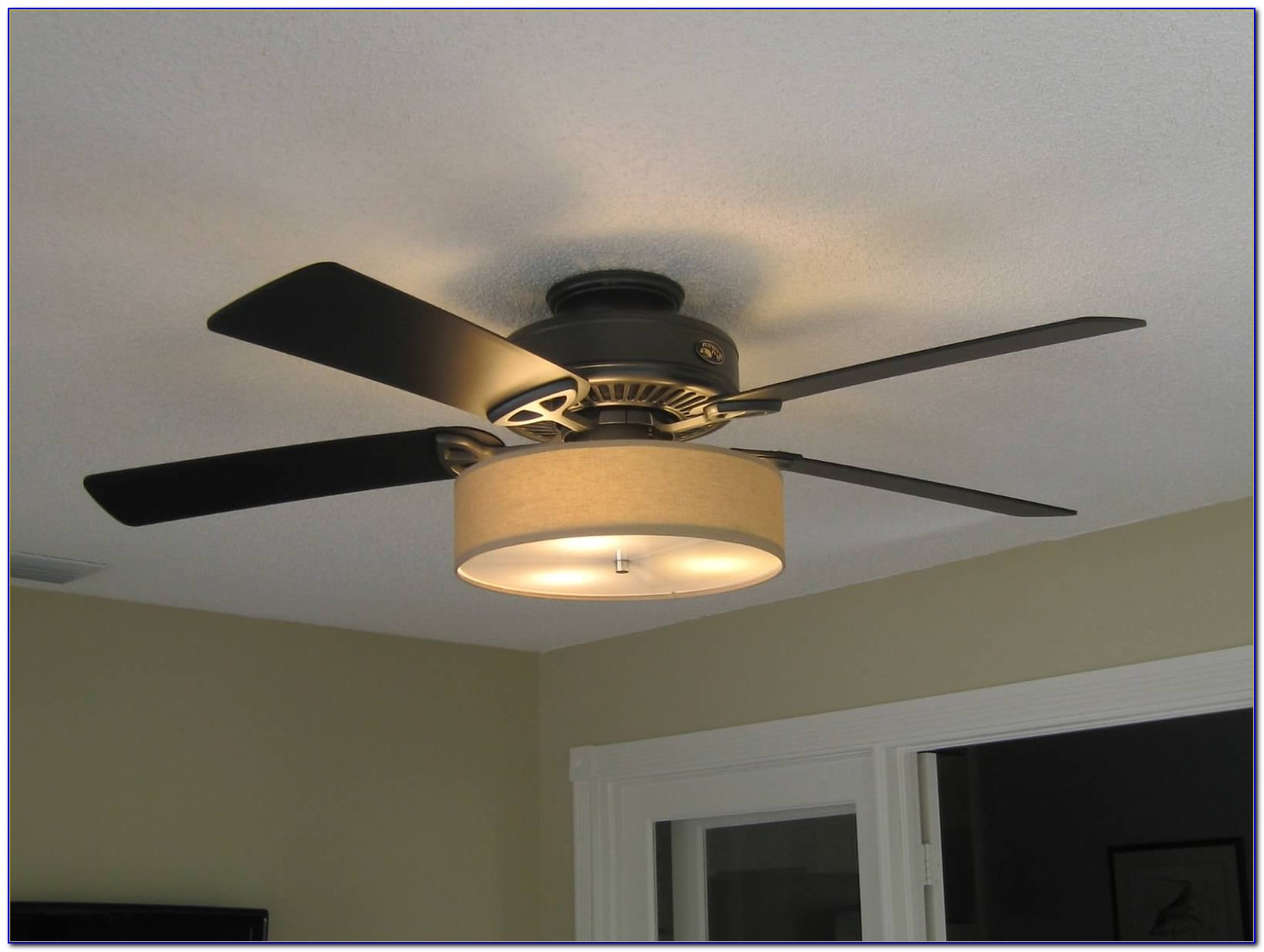 Ceiling Fan Drum Shade Light Kit