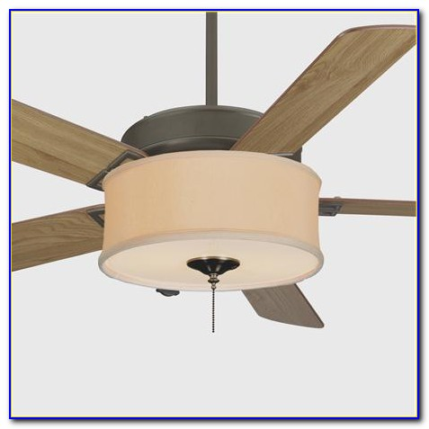 Ceiling Fan Drum Shade Light