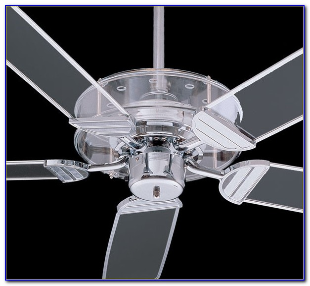 Ceiling Fan With Acrylic Blades