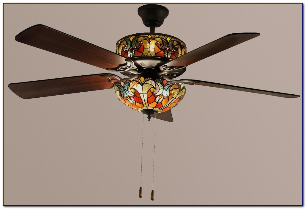 Ceiling Fans Tiffany Style