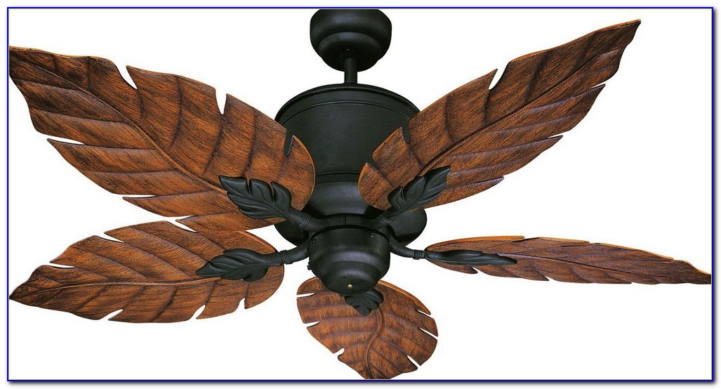 Ceiling Fans With Leaf Blades