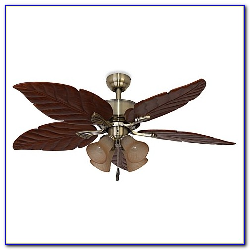 Ceiling Fans With Leaf Shaped Blades
