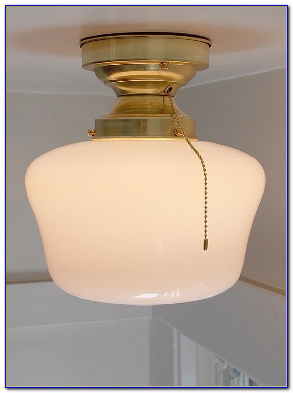 Ceiling Light Fixture With Pull Chain Canada