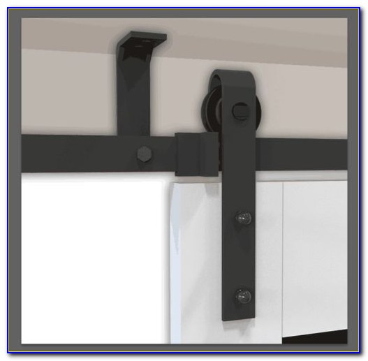 Ceiling Mount Barn Door Track System