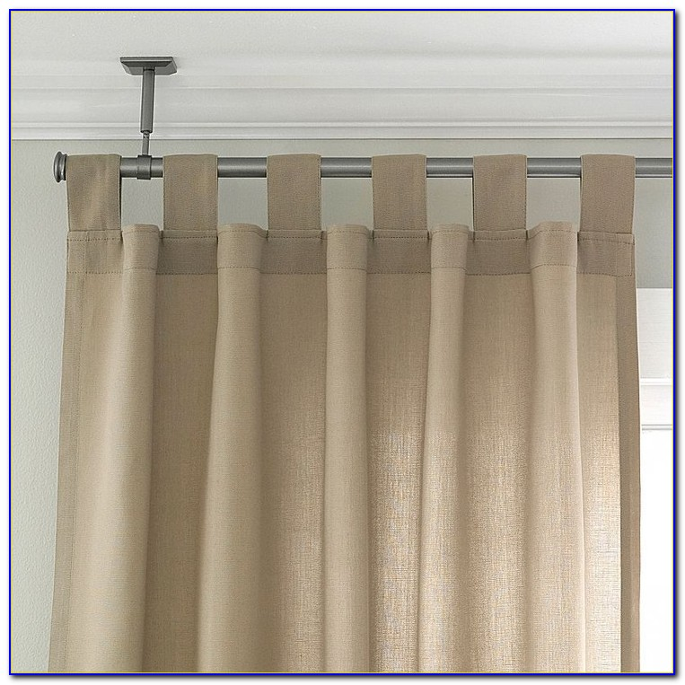 Ceiling Mount Double Curtain Rod