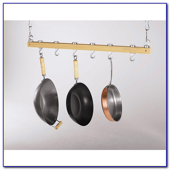 Ceiling Mounted Pot Racks Stainless Steel