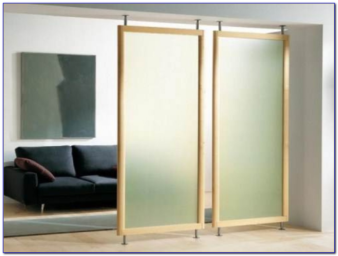 Ceiling Mounted Room Dividers Modern