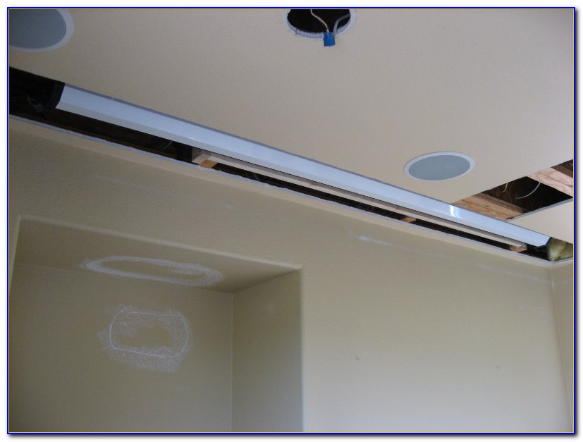 Ceiling Recessed Motorized Projector Screen
